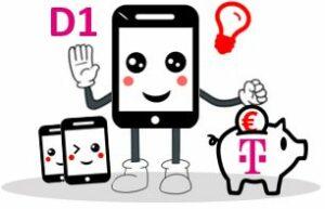 Günstige D1 Tarife im Telekom Netz