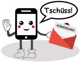 DeutschlandSim Handyvertrag kündigen