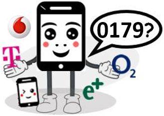 0179 Anbieter, Netz und Vorwahl